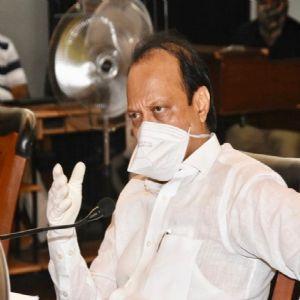 'कोविड-१९ विषाणू प्रादुर्भावाच्या परिस्थितीची आढावा बैठक - उपमुख्यमंत्री अजीत पवार