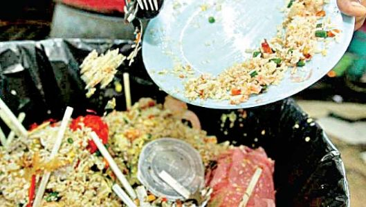 अन्नाची नासाडी : सामाजिक गुन्हा