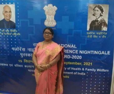 महाराष्ट्रातील दोन परिचारिकांना राष्ट्रीय 'फ्लॅाेरेन्स नाइटिंगेल' पुरस्कार